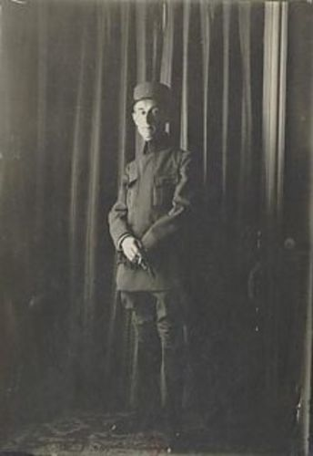 Maurice Ravel in uniform